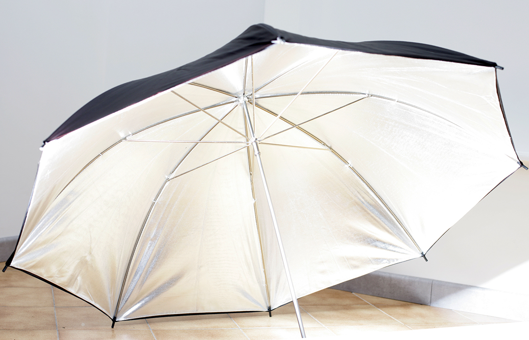 Parapluie argent (x2)